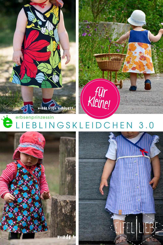 Lieblingskleidchen für Kleine nähen: designbeispiele