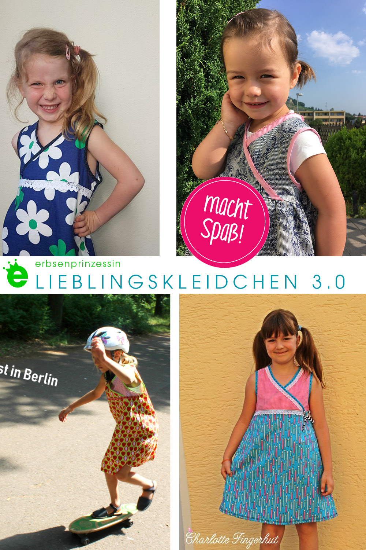 Lieblingskleidchen macht Spaß: designbeispiele