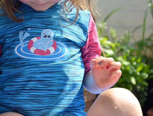 Plotten auf Badestoff: Flexfolien und Tipps