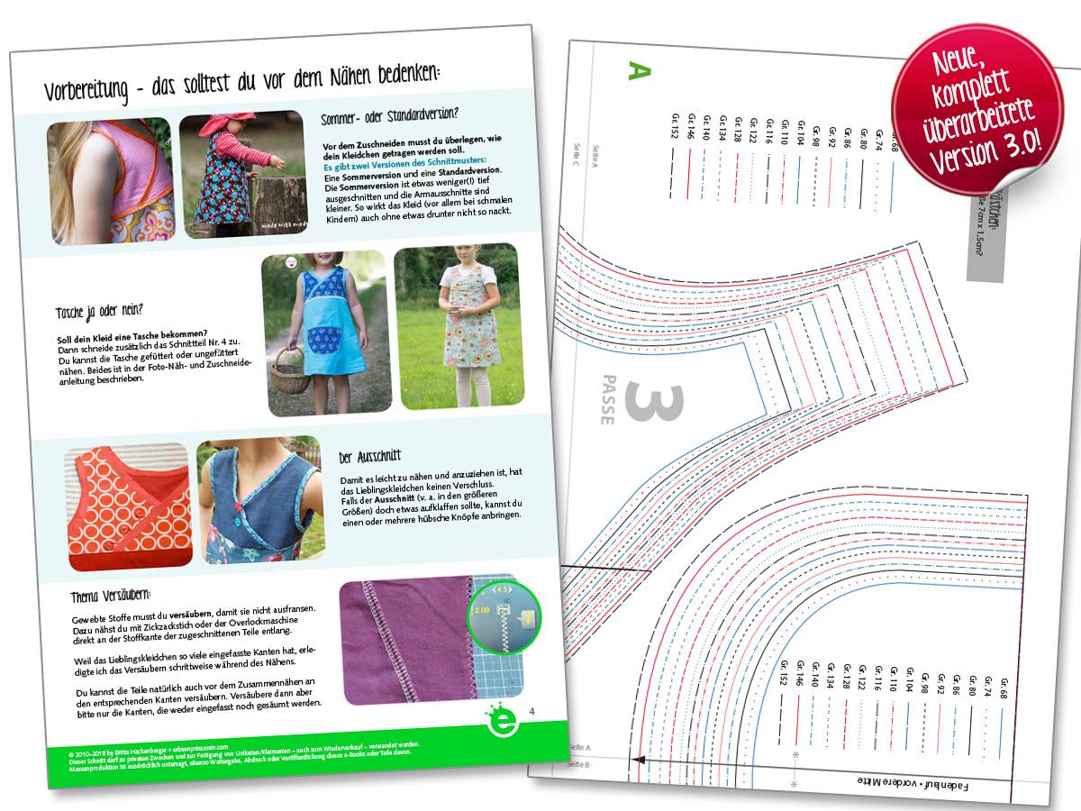 Näh-e-Book Lieblingskleidchen, neue Version