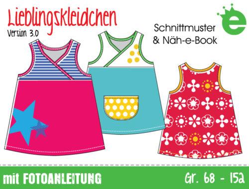 Lieblingskleidchen Schnittmuster für ein Kinderkleid, Version 3.0