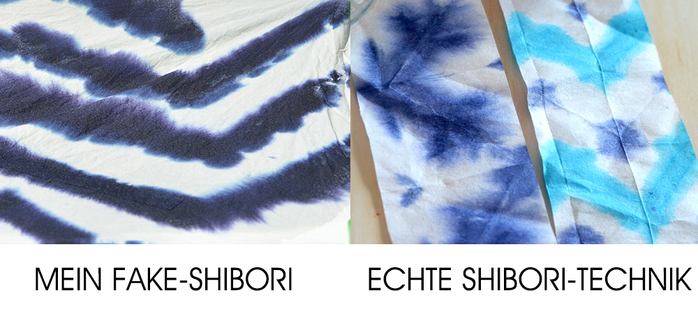 Shibori Vergleich