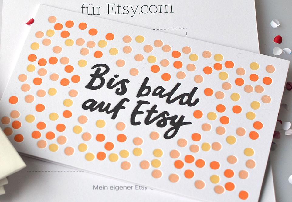 etsy-Gutschein Gewinnspiel