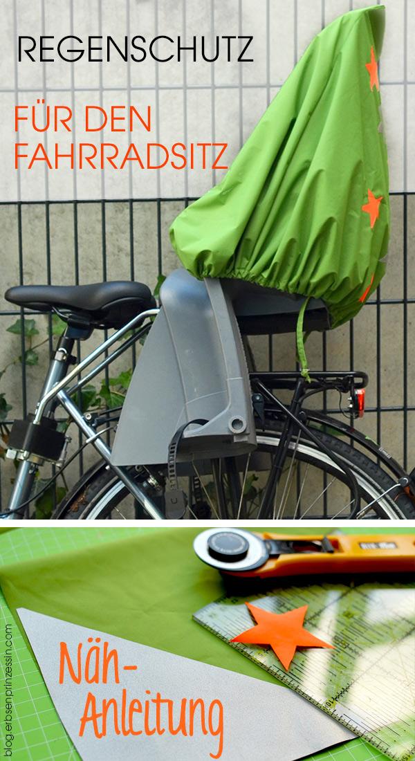 Regenschutz für den Fahrradsitz: Freebie-Tutorial. Regenhülle selbernähen