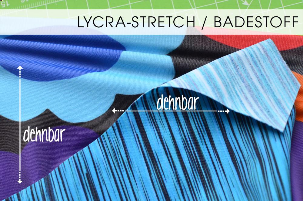 Lycra-Stretch / badestoff für die Einsätze der Reithose