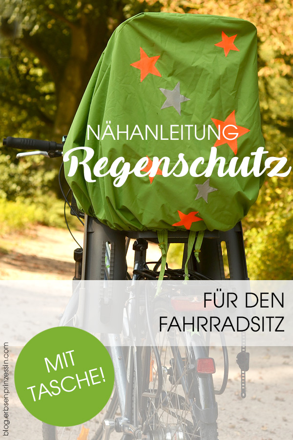 Nähanleitung: Regenschutz für den Fahrrad-Kindersitz. Freebie Schnittmuster