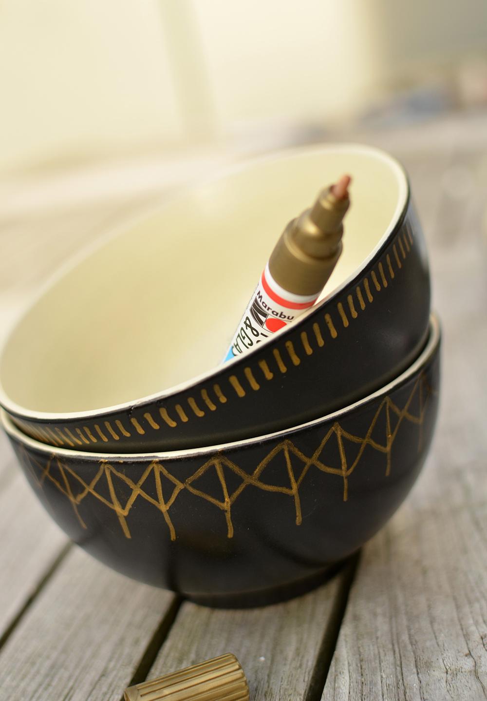 Keramik mit Porzellan-Paintern aufhübschen