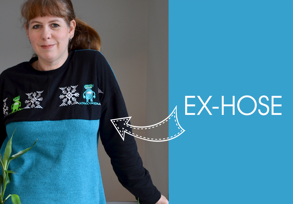 Upcycling-Klamotten: Aus Wellness-Hose mach Sweatshirt