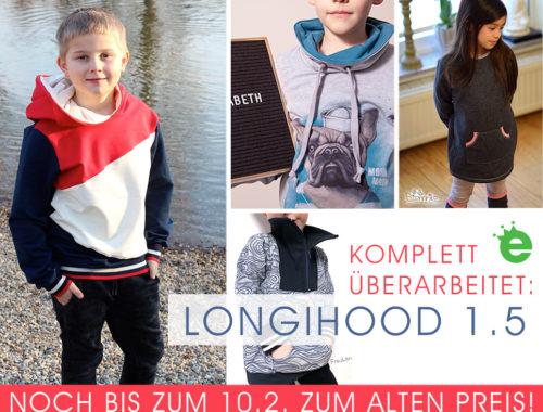 Longihood Sweater Schnitmuster Einführungspreis