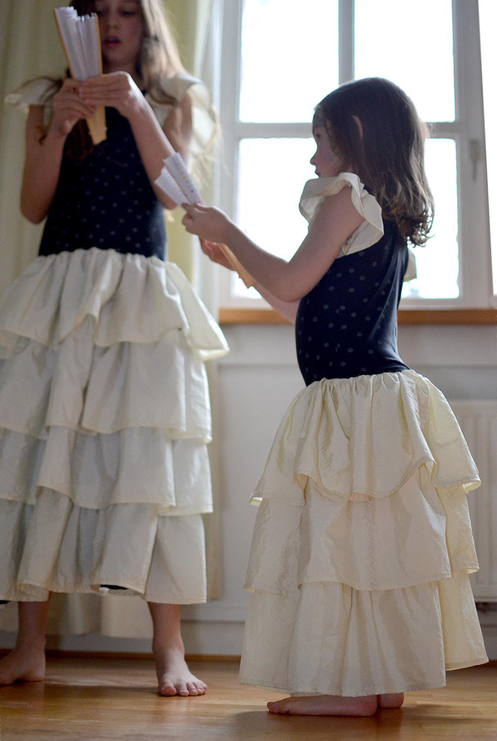 Rüschenkleider für Prinzessin, Kommunionkleid, Hochzeit, Blumenmädchen