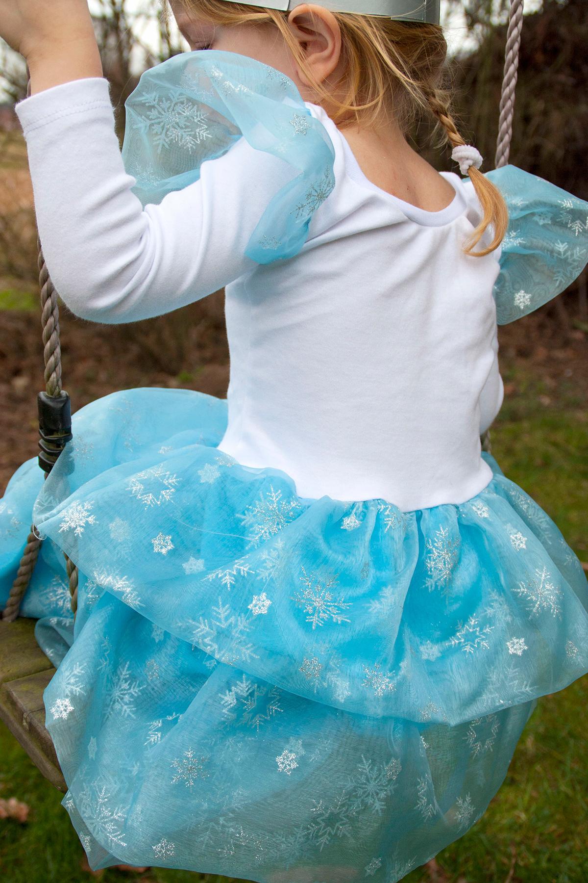Eisprinzessin: Kleid selbernähen nach Schnittmuster Flamencokleid