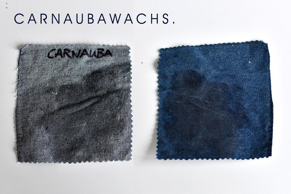 Oilskin selbermachen mit Carnaubawachs