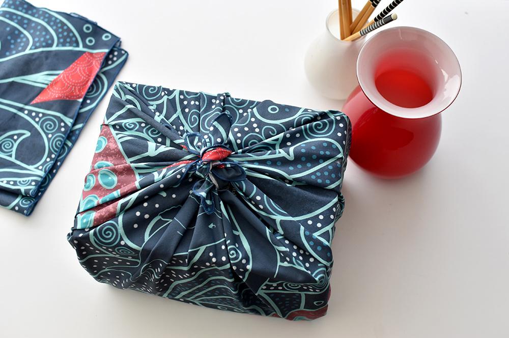 Furoshiki: alternative geschenkverpackung statt geschenkpapier