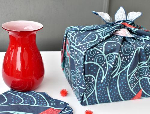 Furoshiki: Stoff statt Geschenkpapier