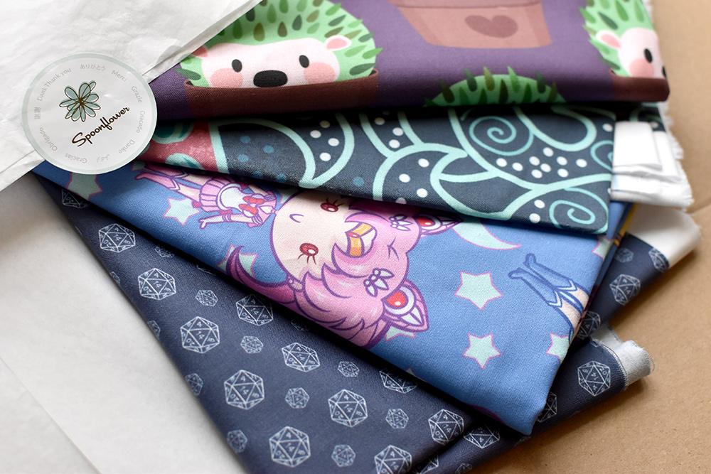 Stoffe von Spoonflower: Baumwolle mit japanischen Designs