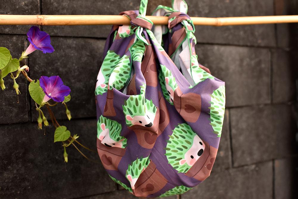 Furoshiki: Bündel knoten