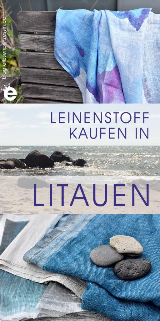 Leinenstoff kaufen in Litauen – das Urlaubs-Mitbringsel für alle Nähfreunde!