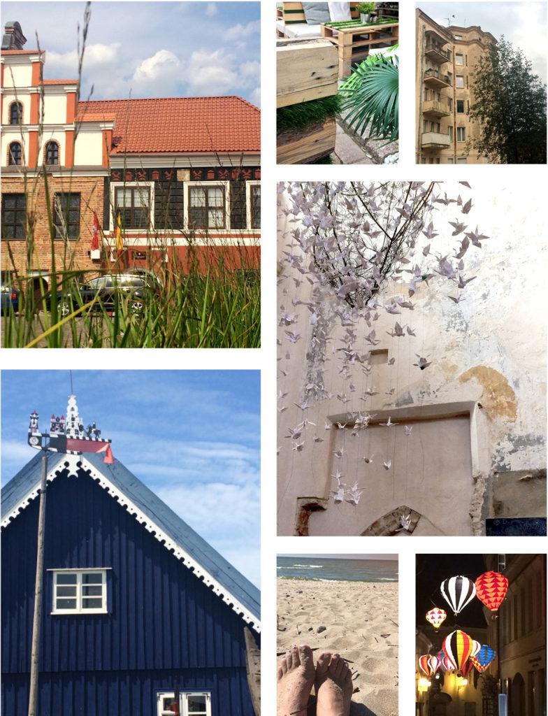 Bilder aus Litauen: Nida, kaunas, Vilnius, Ostsee