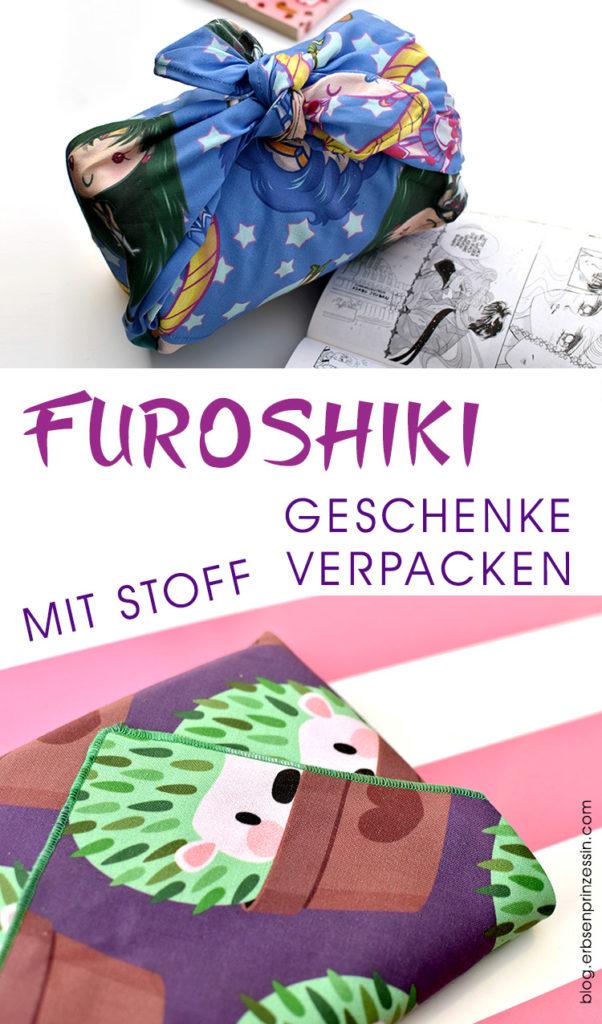Furoshiki: Japanische Zero Waste Geschenkverpackung aus Stoff