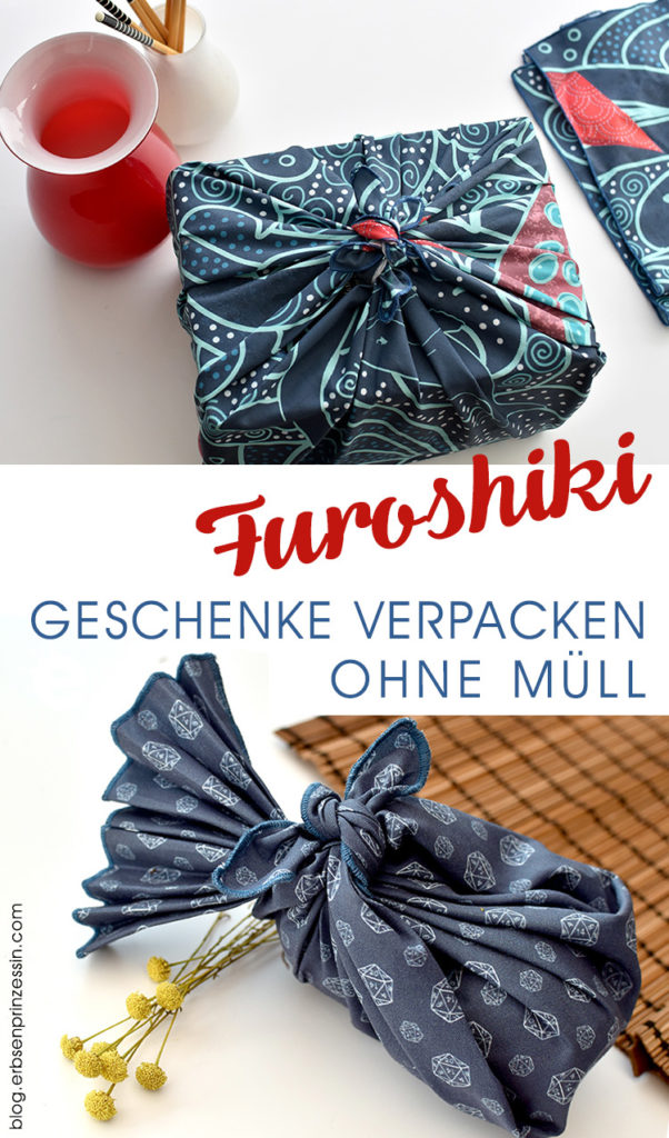 Furoshiki: Geschenke verpacken ohne Müll mit japanischen Tüchern aus Stoff
