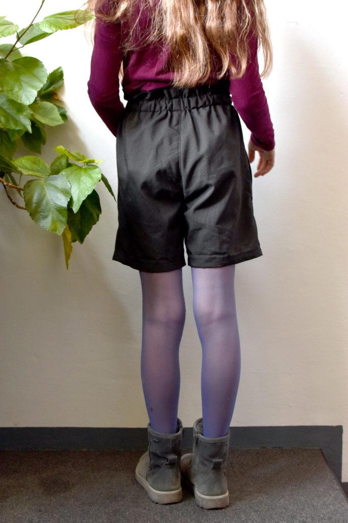 Paperbag Shorts für Teens anfängertauglicher Schnitt zum selbernähen