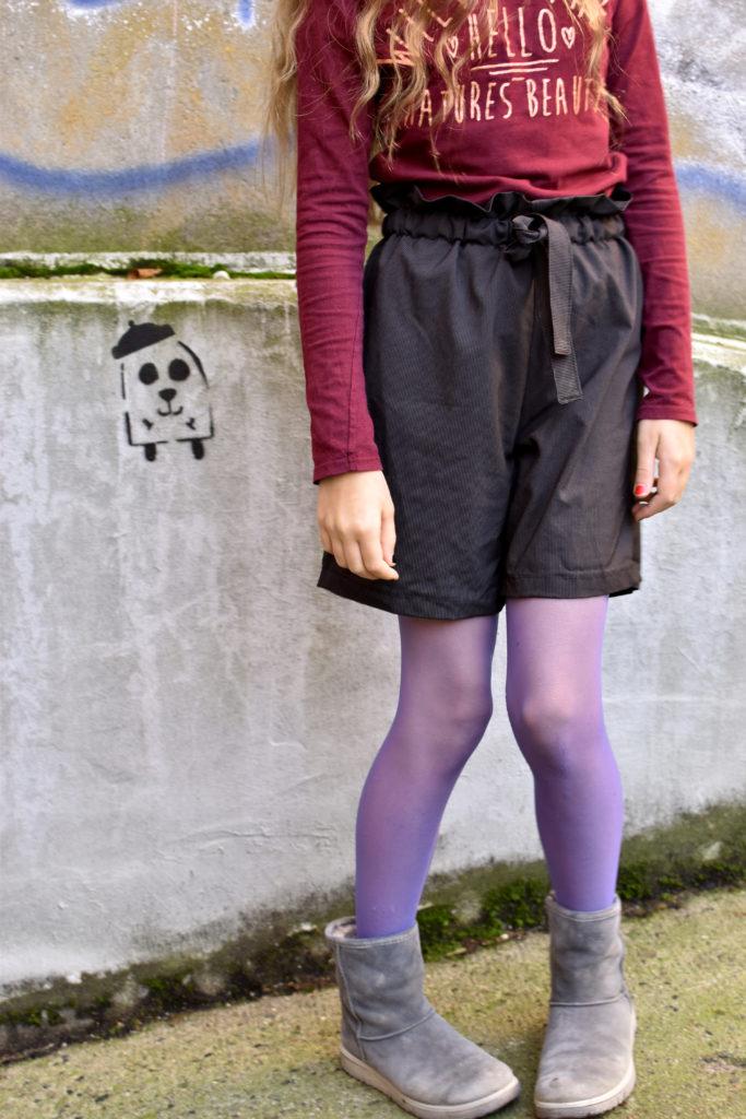 Shorts mit Paperbag-Bund nähen