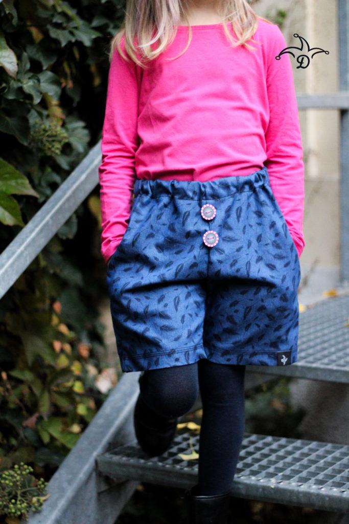 Schnittmuster Paperbag Hose für Kinder