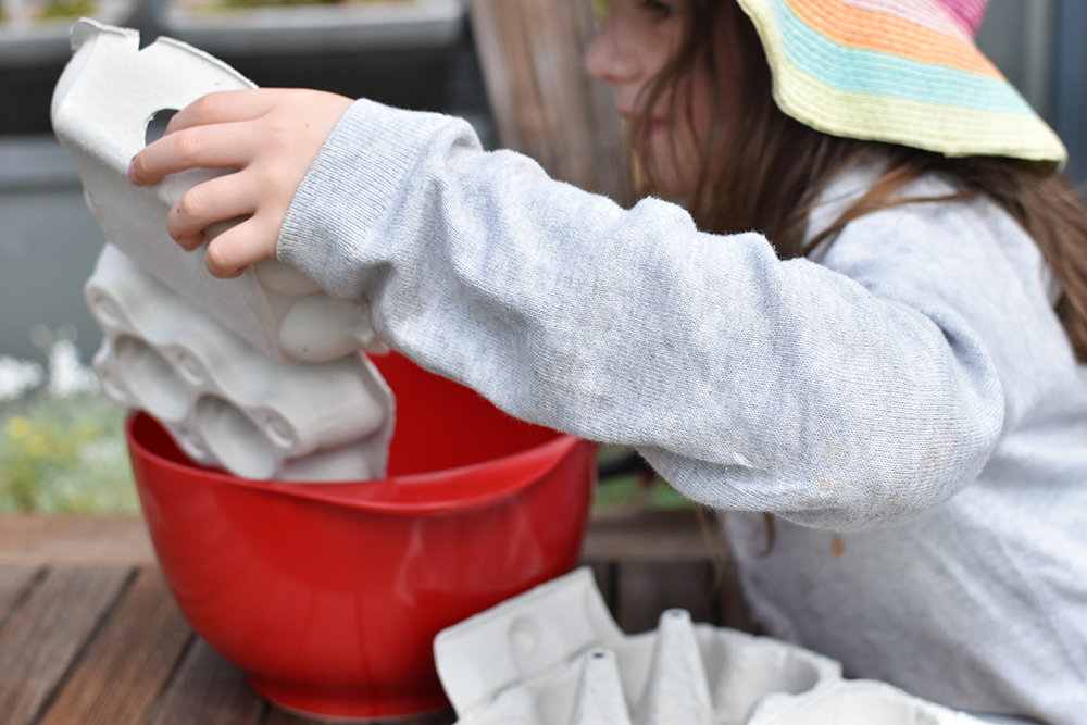 Basteln mit Kindern: Pappmaschee