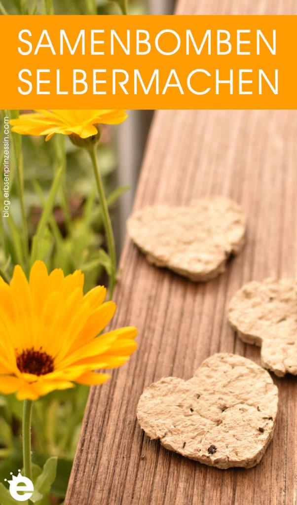 DIY Samenbomben & Samenpapier selbermachen