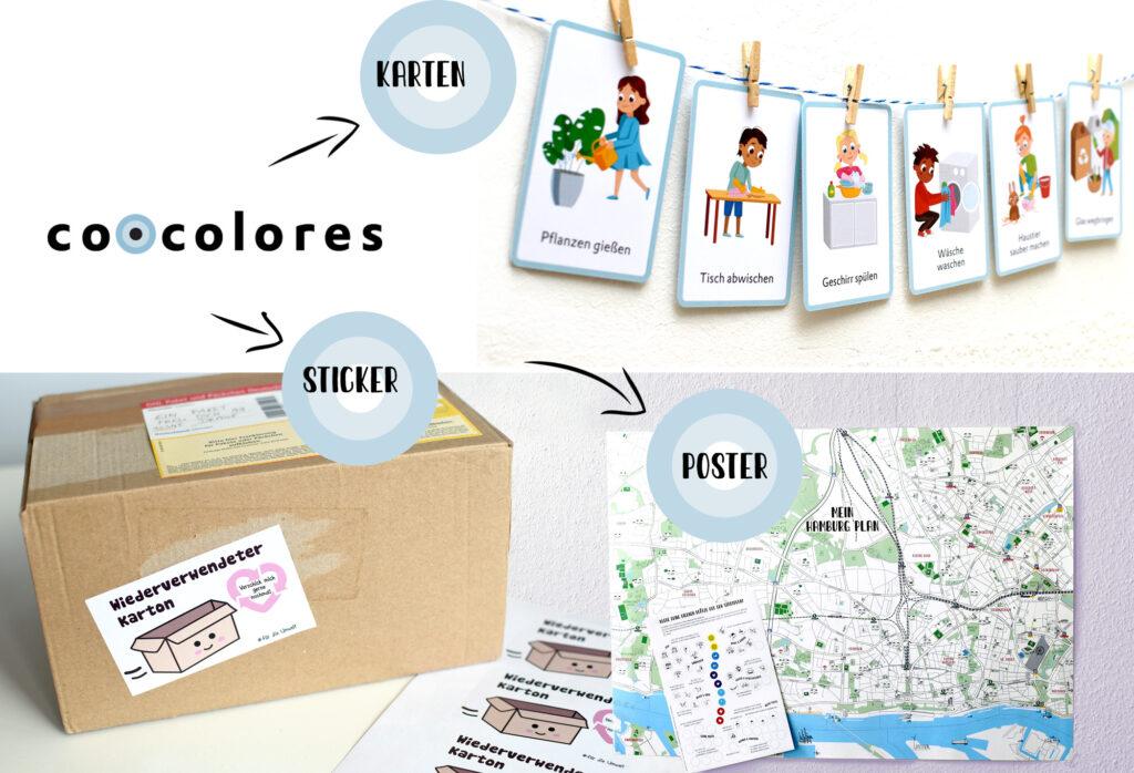 Label co•colores macht bunte Printprodukte